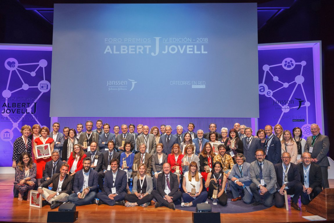 Premiados Foro Premios Albert Jovell 2018