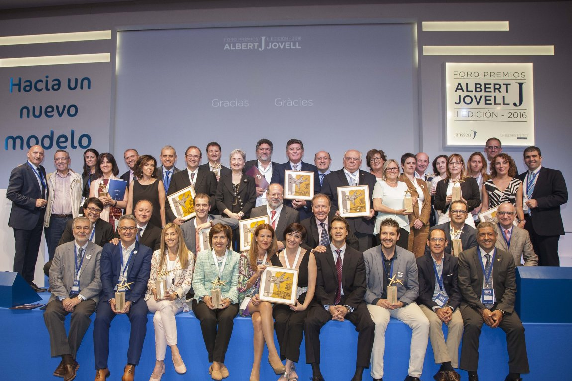 Premioados Foro Premios Albert Jovell 2016