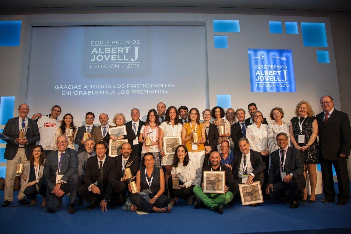 Premiados Foro Premios Albert Jovell 2015