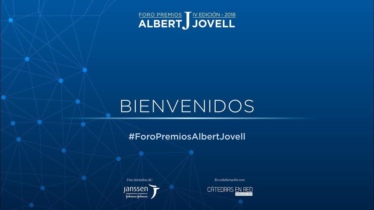 Retransmisión completa  IV Foro Premios Albert Jovell 2018