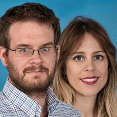 Stefan Walter y Marta Checa